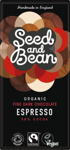 Seed and Bean Espresso 58% Dark Bar