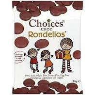 Choices Chocolate Dairy Free Rondellos 25g